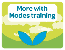 Modes Training courses and options