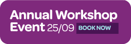 Annual workshop event Sept 2014 - book now